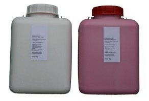 Gentasil rosa, 12 kg Shore24 (2x6 kg), Dubliersilikon