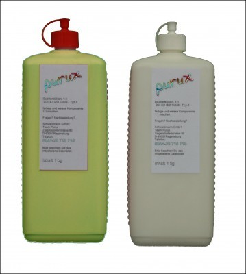 Zitrosil gelb, 2 kg  Shore 24 SPEED  (2x1 kg) Dubliersilikon